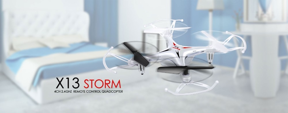 1 2015 New Arrival Syma X13 RC Mini Drone Helicopter  2.4G 4CH 6-Axis Quadcopter With 3D Flips Remote Control Toy