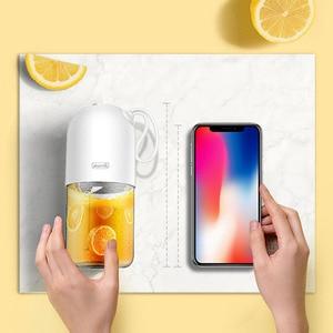 Image 4 - Deerma Juicer 300ml przenośne elektryczne Blender uniwersalny bezprzewodowy Mini USB akumulator kubek do soku owocowego mikser do podróży