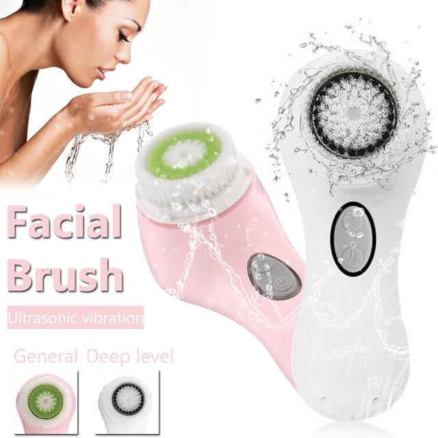 Sonic Face Exfoliating scrubskber Facial Cleansing Brush For Deep Face Dirt Elimination RUDE Renew My Lips Lip Exfoliator