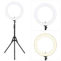 Премиум FX 60 18 дюймов Внешний затемнения светодиодный кольцо ночник для Камера смартфон