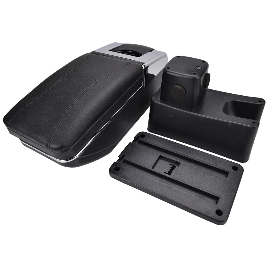 Image 5 - For Suzuki Swift 2005   2017 Center Centre Console Storage Arm Rest Rotatable Box Armrest 2006 2007 2008 2009-in Armrests from Automobiles & Motorcycles