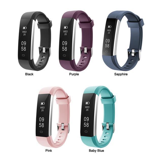 Id115 Smart Fitness Tracker Bracelet Ip67 Waterproof Sport Watch Pedometer Sleep Monitor Activity Smarch