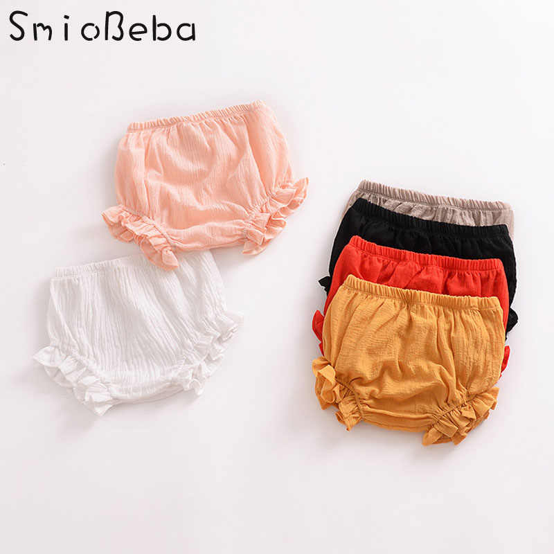 8855762c9f181 Baby Girls Pant European and American Fashion Korean Kids PP pantsbaby girl  summer clothes cycling Safety