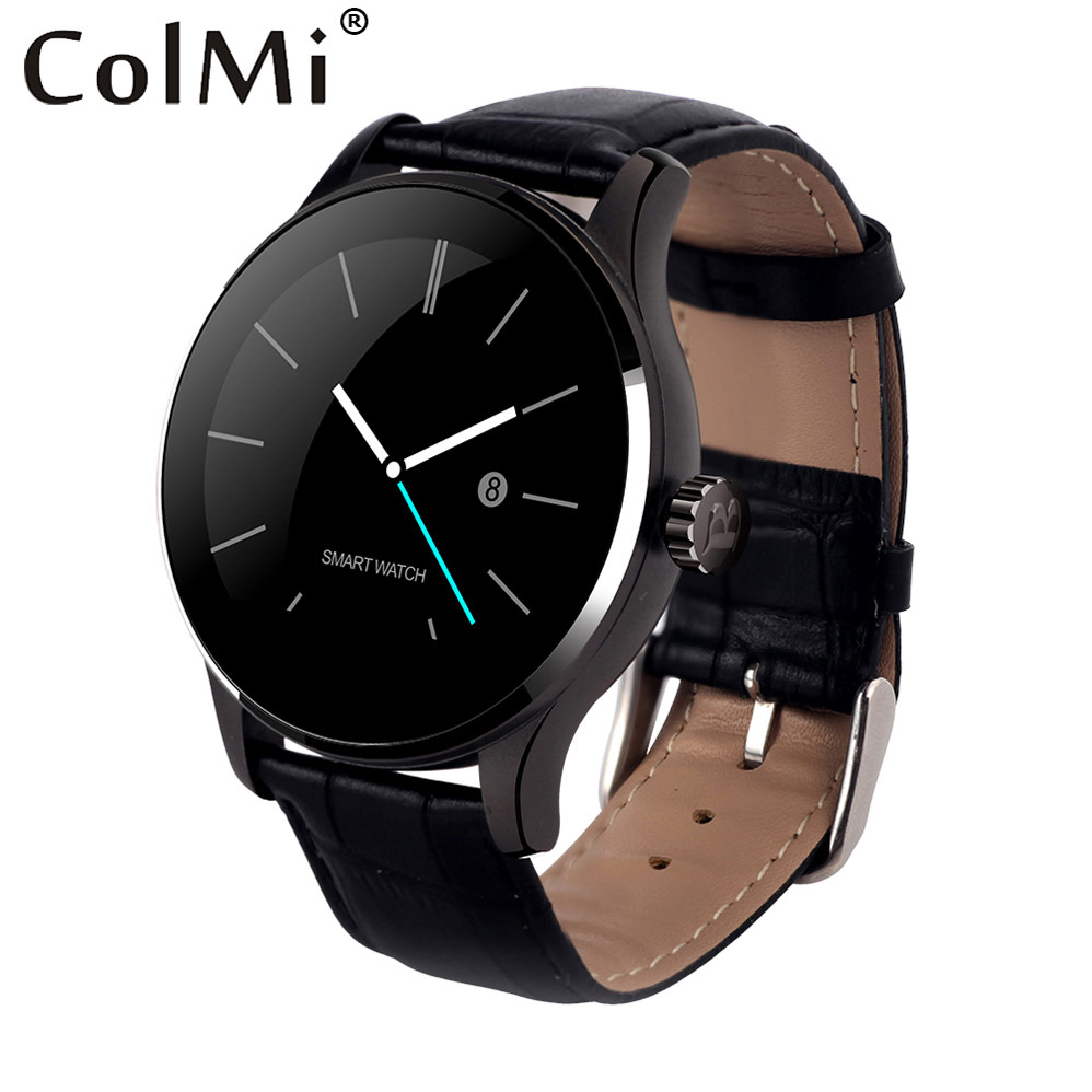 ColMi Original K88H Plus Smart Watch Track Wristwatch MTK2502 Bluetooth Heart Rate Monitor Pedometer Dialing For Android IOS k88h mtk2502 bluetooth smart watch with heart rate monitor for android ios phone