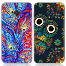 Drop Shipping TPU Soft Phone Case for Alcatel U5 5-inch Fashion Pattern Colorful Painted