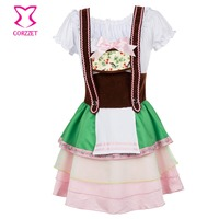 Beer Girl Costumes Oktoberfest Costume Fancy Dress Halloween Cosplay anime adults sex Maid Outfit Cosplay Uniform