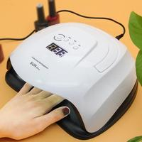 SUN XPlus 80W UV Lamp LED Nail Lamp Nail Dryer For All Gels With Infrared Sensing Timer 10s 30s 60s 99s By DHL