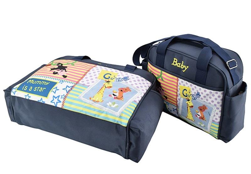 MOTOHOOD 4pcs Baby Diaper Bag Sets For Mom Cute Animal Baby Stroller Bag Organizer Fashion Maternity Bags Handbags For Moms (3)