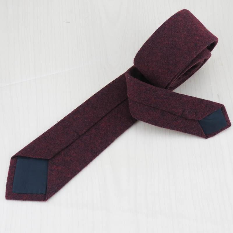 Mens Necktie Moda Qatı Rəngli Yumşaq Pambıq 5.5 sm qalstuk + - Geyim aksesuarları - Fotoqrafiya 4