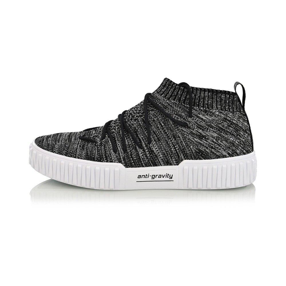 Li Ning Men FLIPER HI Walking Shoes Mono Yarn Wearable Stylish LiNing Sports Shoes Fitness Sneakers AGLN159 SJAS18-in Walking Shoes from Sports & Entertainment    2