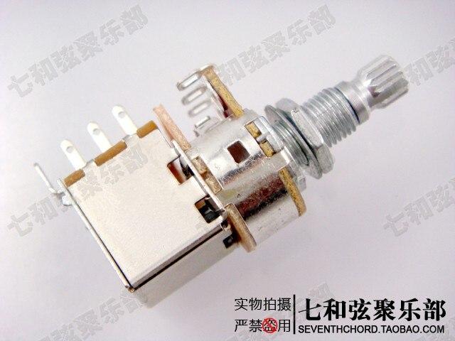 3 Pcs/lot A25K Guitar Push Pull Switch Control Pot Potentiometer ...