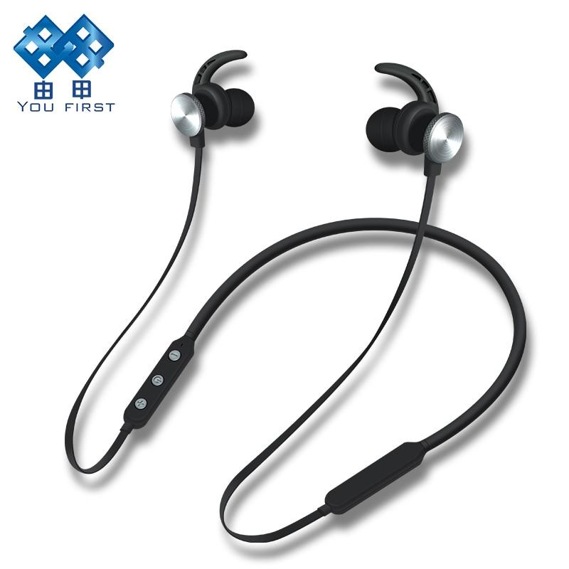 VOUS PREMIÈRE Sans Fil Écouteurs Casque Bluetooth Stéréo Casque Sport Sans Fil Écouteur Casque Avec Microphone Pour Mobiles