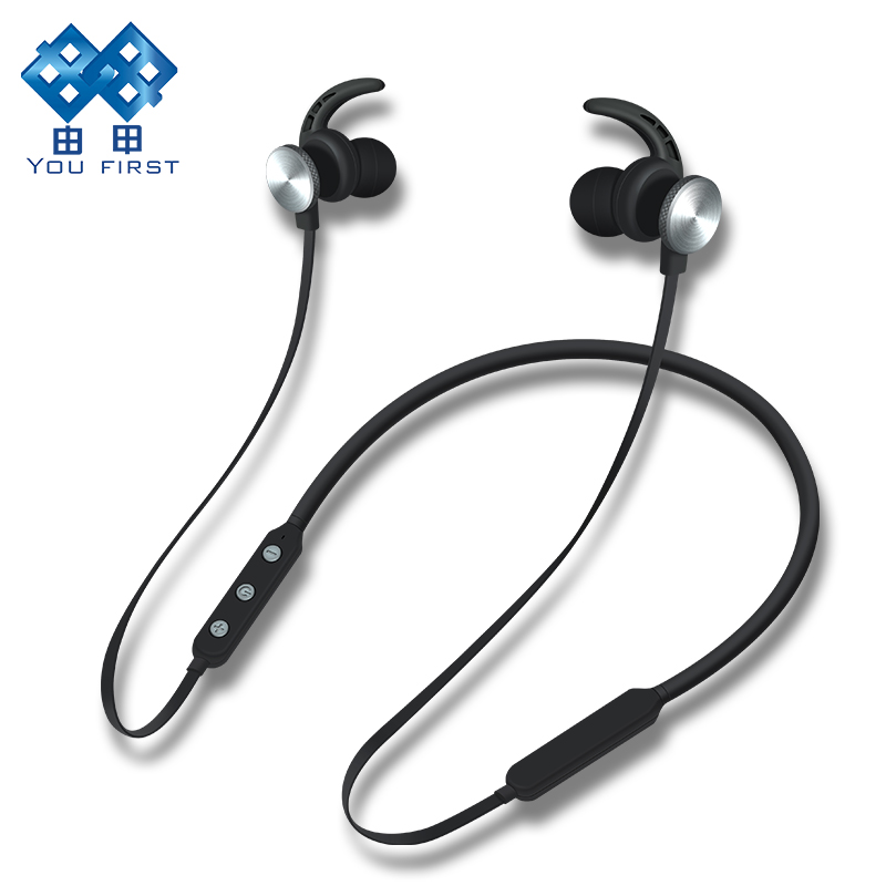 YOU FIRST Wireless Earphone Headphone Bluetooth Stereo Headset Sport Wireless Earphone Headphones With Microphone For Mobiles you first wireless headphone bluetooth earphone sport stereo neckband bluetooth headset with micorphone kulaklik for phone