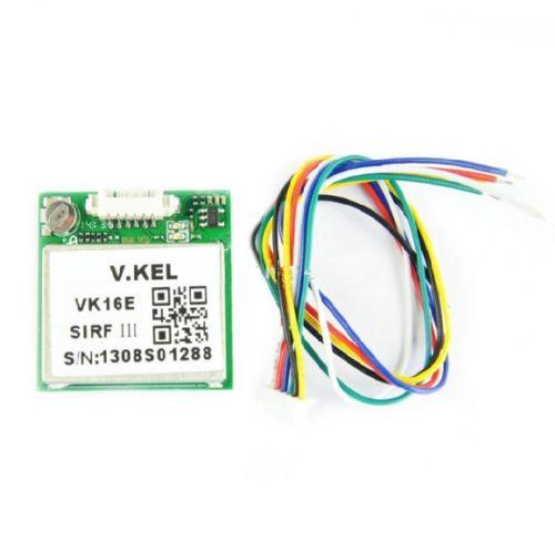 VK16E Gmouse GPS Module SIRF3 Chip 9600bps W/Ceramic Antenna TTL Level