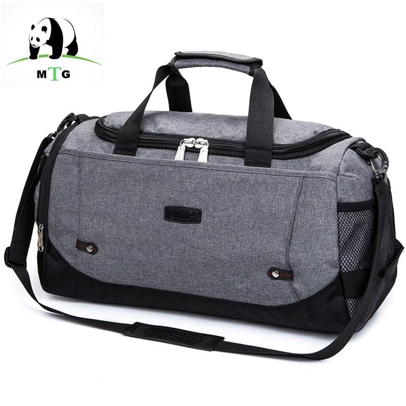 MTG Brand Travel Bag Large Capacity Men Hand Luggage High Quality Travel Duffle Bag Canvas Weekend Bags Male Travel Bags Handbag цена