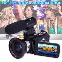 4 K WiFi Ультра HD 1080 P Цифровая видеокамера DV с объективом + микрофон SL @ 88