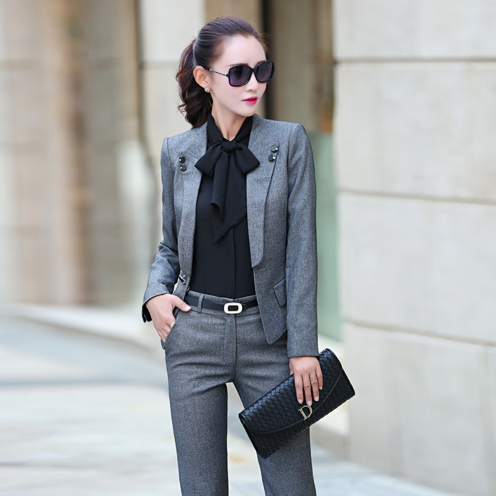 Aliexpress.com : Buy 2016 New Arrival Formal Women Pant Suits Hot ...