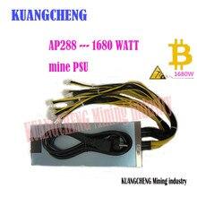 Kuangcheng AP288 S9/S7/S5/S4/S4 + 12 В источника питания 1680 Вт AP288 PSU серии С 10 шт. 6pin PSU для Antminer L3 + S9 bitmain