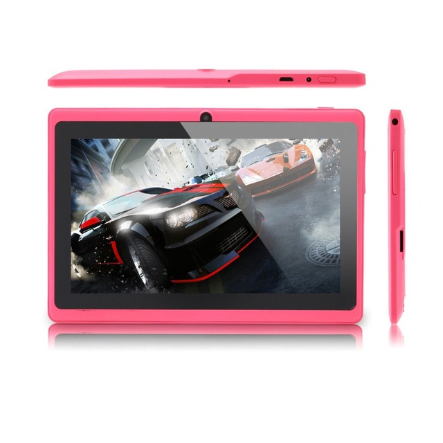 iRULU eXpro X1 7» Tablet Allwinner Android 4.4 Quad Core Tablet Dual Cam 8GB ROM WiFi Multi Color w/ Screen Protector Gift
