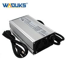 54.6V 9A chargeur 54.6V Li ion chargeur de batterie pour 13S 48V Lipo/LiMn2O4/LiCoO2 chargeur de batterie e bike coque en aluminium