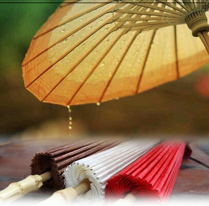 Papier huilé épaississement restauration antique art artisanat parapluie envoyer parapluie sac film et accessoires de télévision