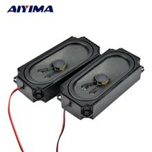 AIYIMA 2 шт Мини Портативный аудио динамик s 10045 8 Ом 10 Вт динамик для ТВ, lcd