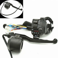7/8in WY125 A C Motorcycle handlebar Switch Horn Turn Signal Lamp Control Switch for Motorcycle Electric Bike/Scooter