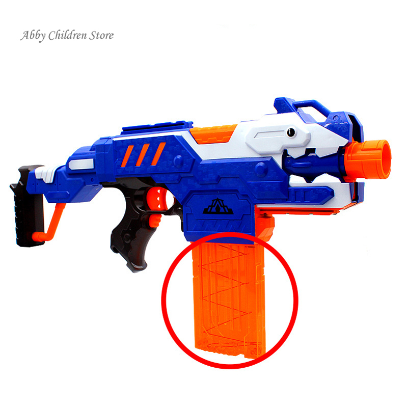Soft Bullet Clip For Toy Gun Magazine Cartridge 12 Bullets Plastic Dart Guns  Ammo Clips Accessories Child Kids Toys For Pistola-in Toy Guns from Toys ...