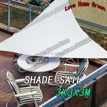 Треугольные паруса комбинация тент навес тень оттенок палатка солнца чистая ткани