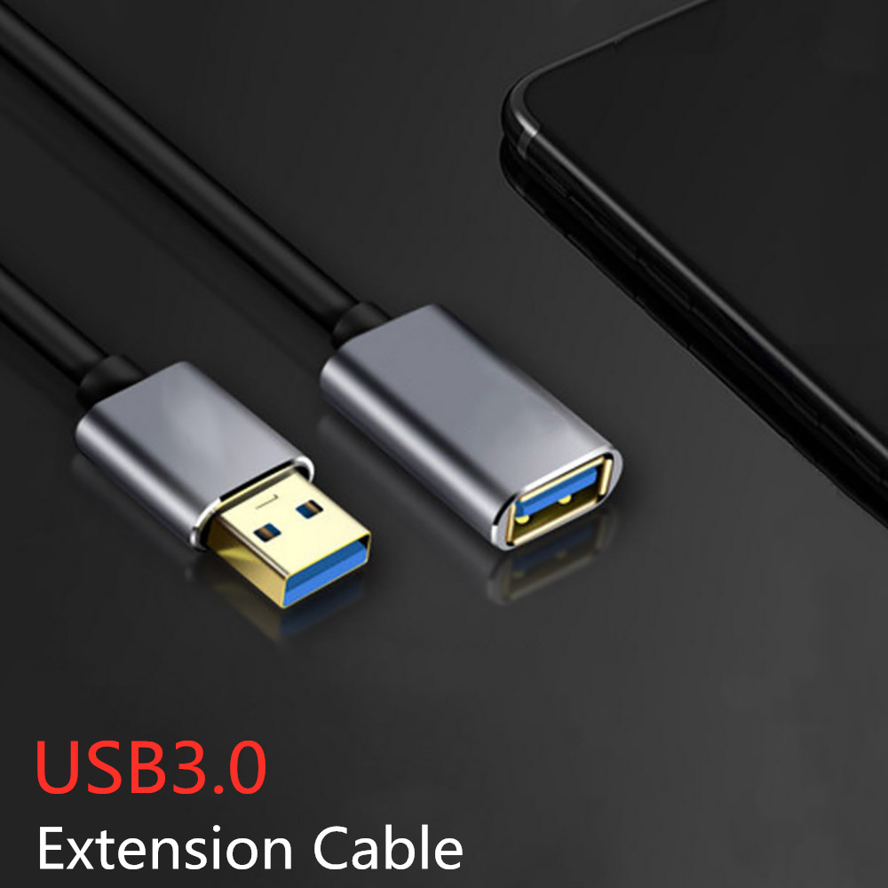 Brillante Cable De Extensión Usb Cable Super Velocidad De Cable Usb 3,0 Macho A Hembra Para Smart Tv Ps4 Xbox Pc Portátil Teclado 0,5 1 M 1,5 M 2 M 3 M