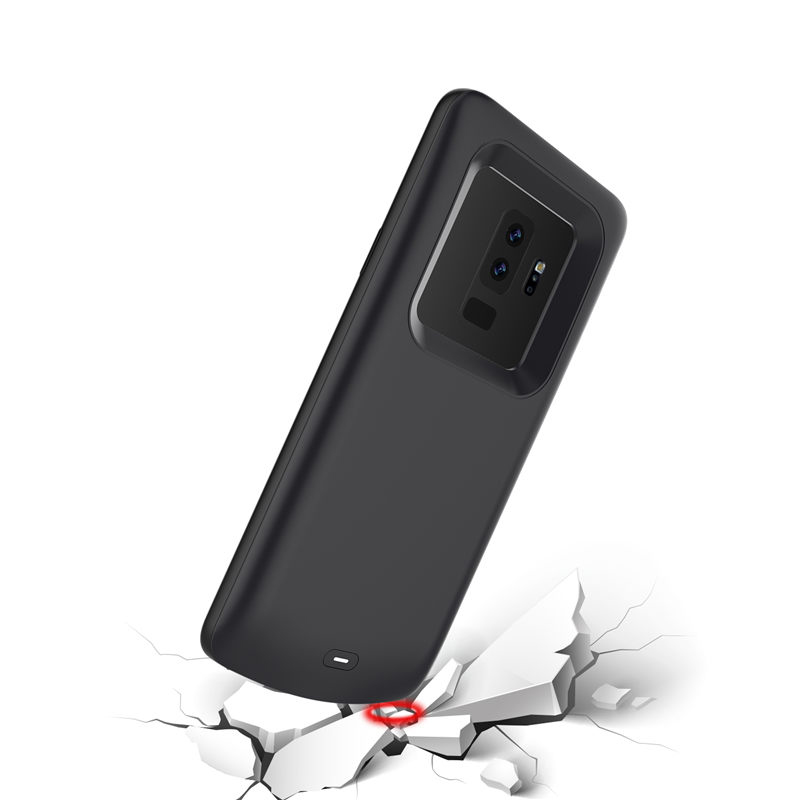 Silicone Shockproof Battery Charging Case For Samsung Galaxy S9 S8 Plus Note 9 Note 8 Battery Charger Case Pack Power Bank Case