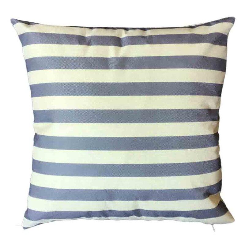 Cushion Cover 2017 MewSquare Pillow Cover Cushion Case Toss Pillowcase Hidden Stripe Zipper Closure Pillows Decor Home