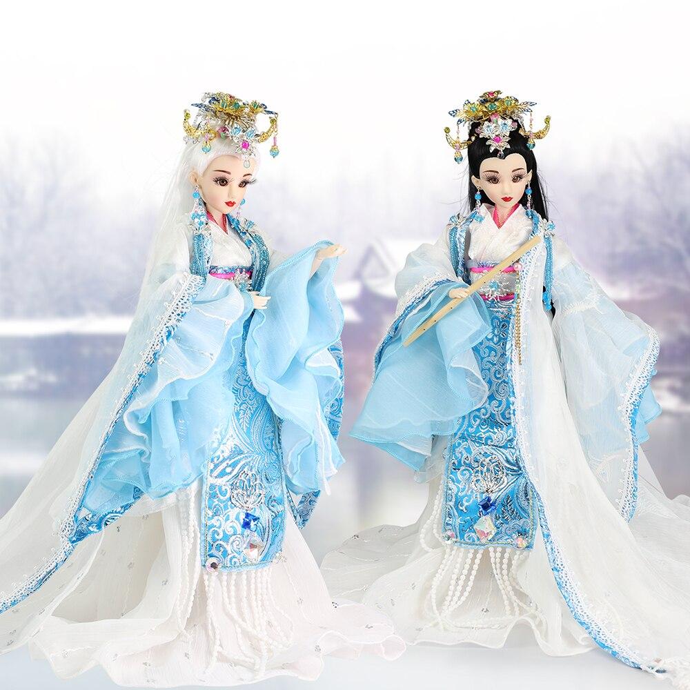 все цены на Fortune Days East Charm doll Ancient China Bi yue 1/6 like BJD Blyth doll with makeup 14 Joint body High Quality gift онлайн