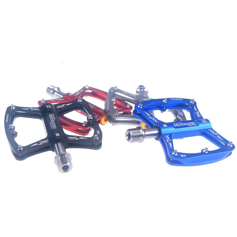 Road Bike Mountain Bicycle Three Bearing Pedals Folding Bicycle Titanium Alloy Pedals Cycling Parts
