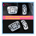 Fashion Special Offer Rushed No Drilling Fiesta Ecosport Skid Stainless Car Pedal Pads Case for Ford 2009- 2014 Auto Accessories