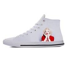 2019 hot fashion 3D Madonna High Sneakers for men/women high