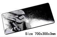 hot new star wars mouse pad 700x300x3mm pad to mouse notbook computer mousepad best gaming padmouse gamer to laptop mouse mat