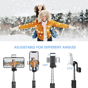 Image 3 - Mpow 3 in 1 Bluetooth Selfie Stick Tripod With Fill Light Wireless Remote Control Selfie Stick Bluetooth Control For Huawei P30