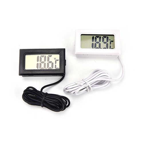 Sensor à prova dwaterproof água medidor de sonda estação meteorológica digital termômetro térmico imager instrumentos de temperatura eletrônica do carro