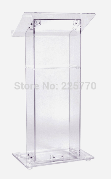 Clean Acrylic Podium Perspex Church Lectern Church Lucite Acrylic Podium Church Rostrum Plexiglass