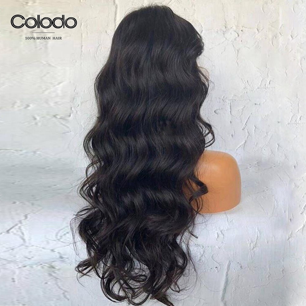 wet and wavy human hair wig