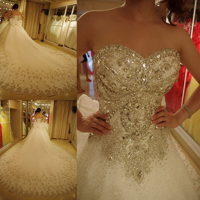 Buy 2016 Luxury Wedding Dresses Bling