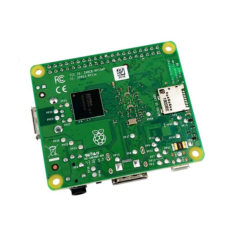 Nouveau Raspberry Pi 3 modèle A + Plus 4 cœurs CPU identique à Raspberry Pi 3 modèle B + Pi 3A + avec WiFi et Bluetooth - 4