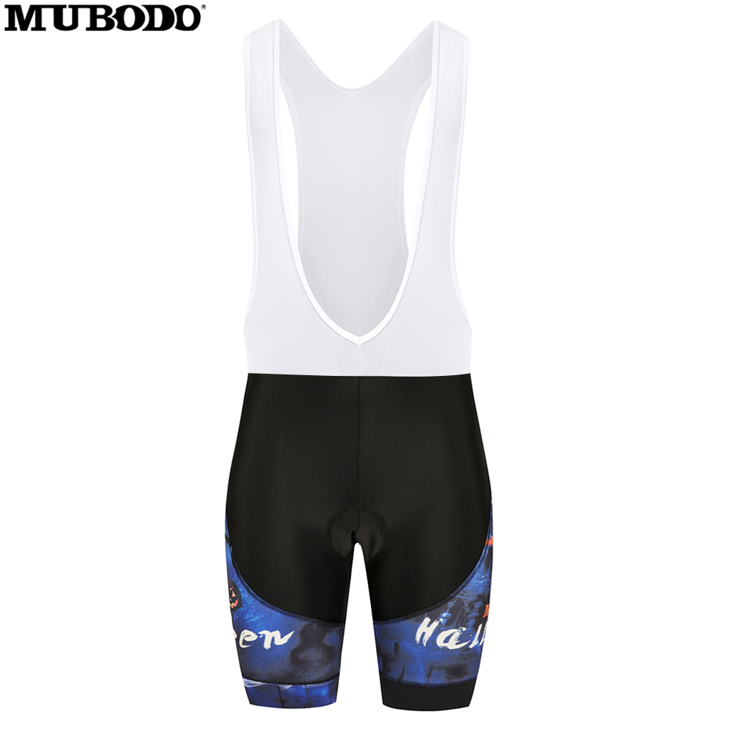 MUBODO 2018 MTB Cycling bib Shorts Double edging Lycra trousers High projectile breathable fart pad Outdoor riding equipment
