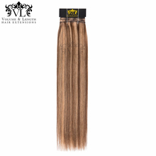 VL Salon Professional Weft Ombre Hair One Bundles Straight Human 100% Remy Extensions With Free Shipping P4/14