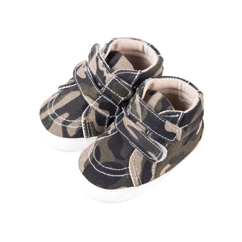2017 Autumn Winter Kids Sneakers Newborn Baby Boy Girl First Walker Fashion Camouflage Non-slip Children Baby Shoes