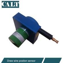 CWP-L5000 linéaire d'encodeur de potentiomètre de tréfilage de chaîne de capteur de mesure de Distance avec la gamme de mesure de 5000mm