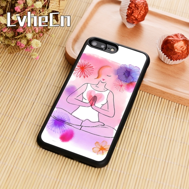 LvheCn YOGA WOMENS HEAL Phone Case Cover For iPhone 4 5s SE 6 6s 7 8 plus  10 X Samsung Galaxy S5 S6 S7 edge S8 S9 plus note 8 9930bacf5