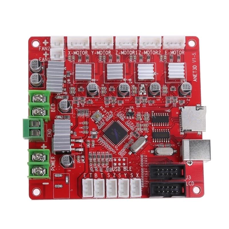 Ramps1.4 Shield Control Switch Controller Board For 3D Printer Parts RepRap #H029# robotale ramps 1 4 reprap mendelprusa 3d printer control board red black