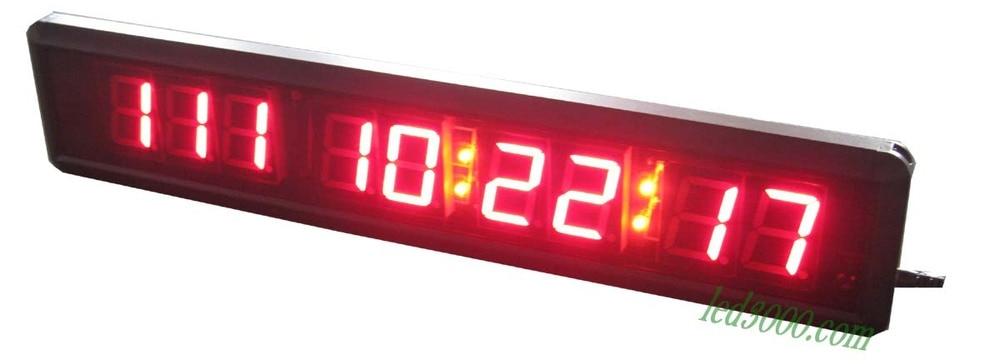 1.8inch 일, 시간, 분 및 초 LED 카운트 다운 시계 (HIT9-1.8R)